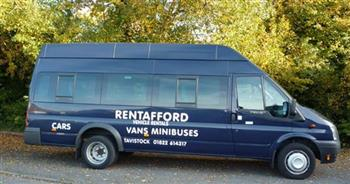 Minibus Hire/Rental offered by Rentafford of Tavistock Devon